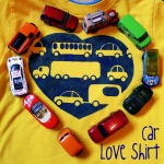 Car love shirt